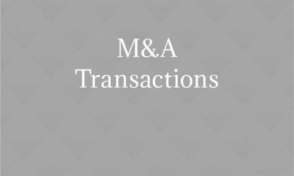 M&A Transactions